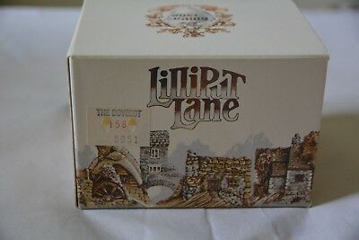LILLIPUT LANE 1989 The Dovecot-MIB includes Free Key Ring Never Displayed