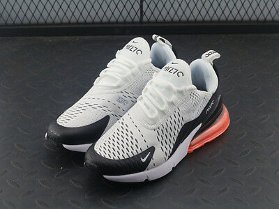 "NEW Nike Air Max 270 ""Black/Hot Punch/Light Bone Trainers -EU40-45- AH8050-003"