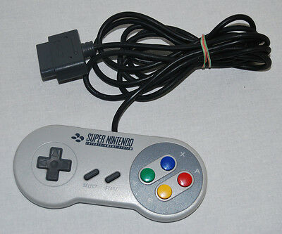 Original Super Nintendo - Snes - Controller / Gamepad - Top  -