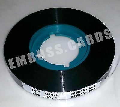 New Fresh OEM DATACARD 150i Black Rear Indent Ribbon 596805-301