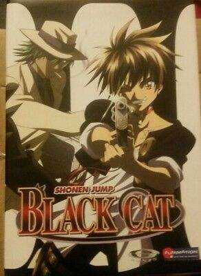 Black Cat - Vol 1,2,3,4,5,6 - Complete LE Box Set Collection Anime DVD