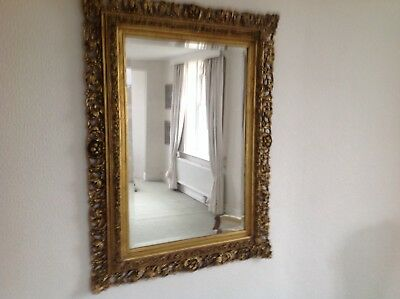 Bargain. Gorgeous Pair of Large French Antique Style Mirrors Excellent Condition