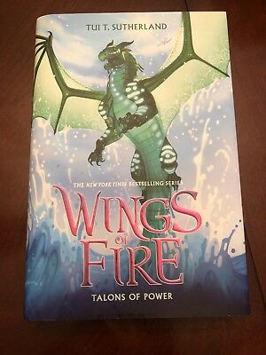 Wings of Fire Talons of Power 9 by Tui T. Sutherland (2017, Hardcover)