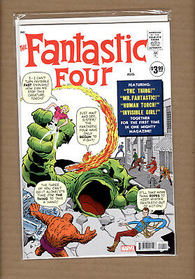 Fantastic Four #1 Facsimile Edition Variant Marvl Comics 2018 Nm