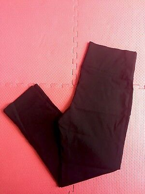 Ripe Maternity Cropped Ankle Black Pants Small