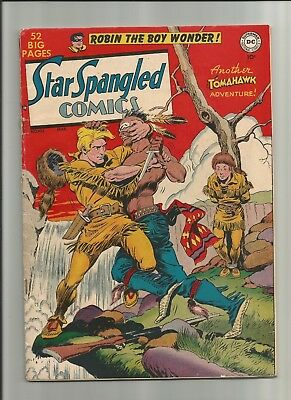 Star Spangled Comics #102 1950 3.5 DC Robin Mooney *Combine Ship*