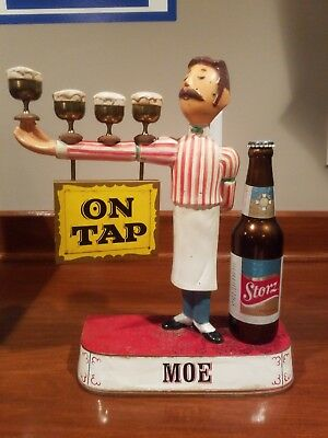 "Storz Pilsener Beer Sign ""MOE"""