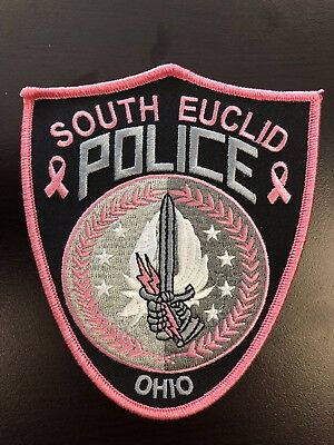 South Euclid Police Pink Patch