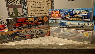 Set Of 5 New Sunoco Truck Collectors Toys