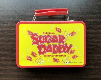 SUGAR DADDY - Lunch Box Tin Collectible- No Candy