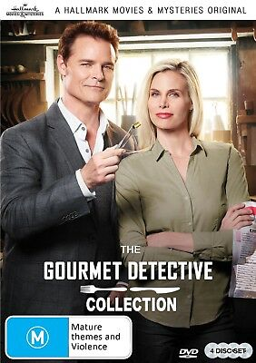 GOURMET DETECTIVE The Complete 4 Film Collection (Region 1) DVD Hallmark Mystery