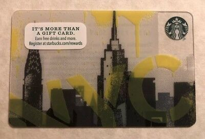 Starbucks 2015 NYC Empire State Building New York City Card - Mint No Value