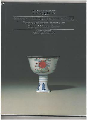Sotheby's Catalog, Important Chinese Ceramics, Koger Collection, New York, 1990