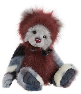 Bundle - collectable jointed plush teddy by Charlie Bears - CB181868A