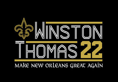 Drew Brees Michael Thomas New Orleans Saints 18 T Shirt