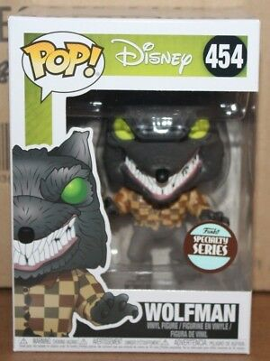 Funko POP NBC Specialty Series Wolfman!!!