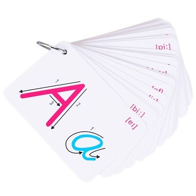 26 Letter English Flash Card  Early Development Learning Educational Toy KZY New