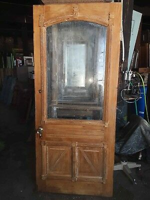 "Antique Pine Cottage Door 36"" X 83"" Hard To Find"