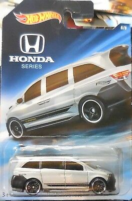 2018 Hot Wheels Honda Series Walmart Exclusive 8/8 Honda Odyssey NEW B3