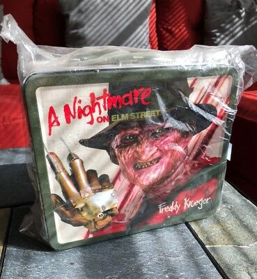 A Nightmare On Elm Street FREDDY KRUEGER Lunchbox / Lunchpail - NEW