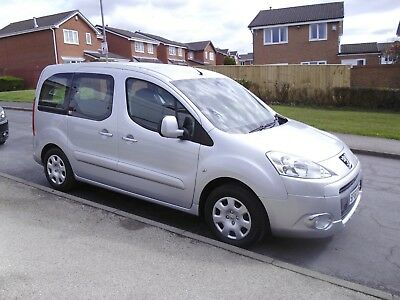 2010/60 Peugeot Partner Tepee HDI Wheelchair Access Silver 5 SEATS