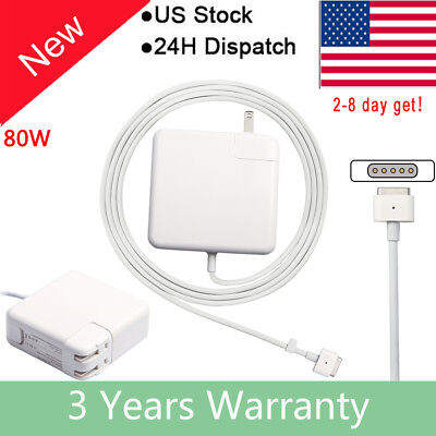 """85W AC Adapter Charger Power Cord Supply for Apple MacBook Pro 15"""" Retina A1398"""