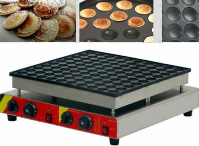 100pcs Commercial Electric Poffertjes muffin machine Dorayaki Pancakes Maker a