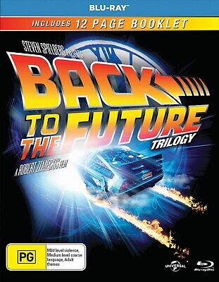 Back to the Future Trilogy Box Set Blu-ray Region B NEW