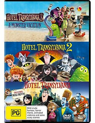 Hotel Transylvania 3-film Collection Box Set with Digital Download DVD Region 4