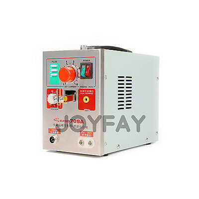 SUNKKO 709A Pulse Spot Welder Soldering Machine for Battery Packs 1.9kw 220 V