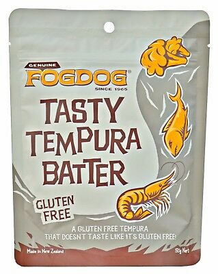 FOGDOG Gluten Free Tasty Tempura Batter - 5 PACK - gluten free tasty light GF