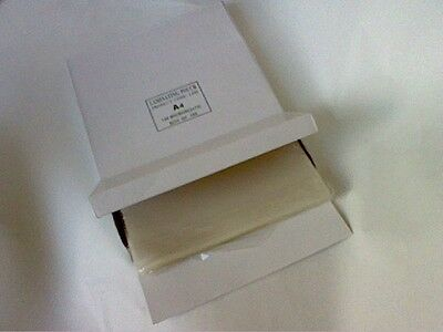100 x A4 LAMINATING POUCH CLEAR 150 Micron (2-75)-WITH CARRIER-QUALITY PRODUCT!!