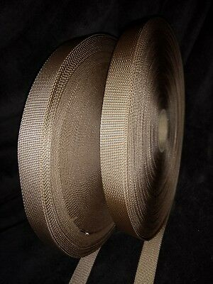 Approx 50 metres 18mm Sand Webbing Military Belts