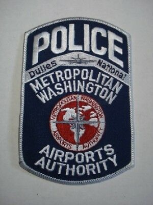 Police Patch - Washington Dulles National Airport Authority