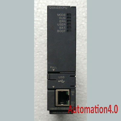 *SHIP TODAY* USED Mitsubishi Q PLC Q03UDECPU Tested Tested It In Good Condition