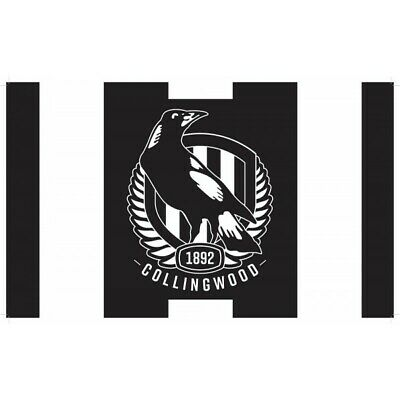 Collingwood Magpies Official AFL Medium Flag FREE POST