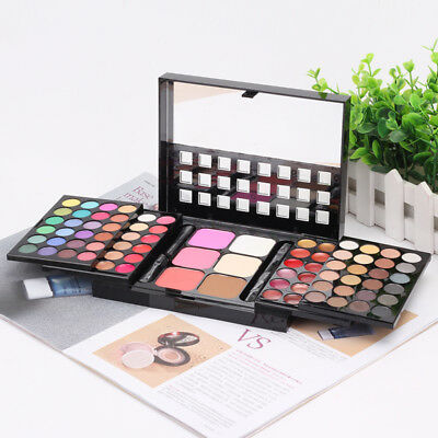 Women Detail About 78 Colors Make up Set Eyeshadow Lip Gloss Palette Blush Kits