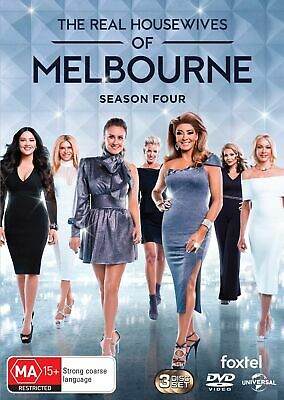 The Real Housewives of Melbourne Season 4 Box Set DVD Region 4 NEW