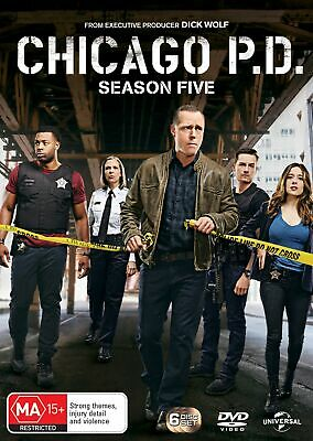 Chicago PD Season 5 Box Set DVD Region 4 NEW