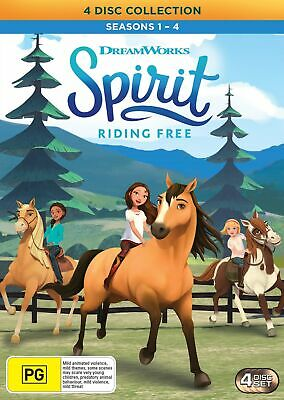 Spirit Riding Free Season 1-4 Box Set DVD Region 4 NEW