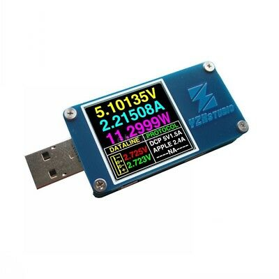 YZXstudio ZY1276 USB Power Monitor QC 3.0 TypeC Power Delivery PD tester FCP AFC