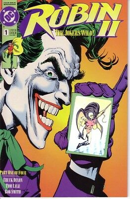 DC Comics -  Robin II No.1, 1991 with Hologram on the Cover