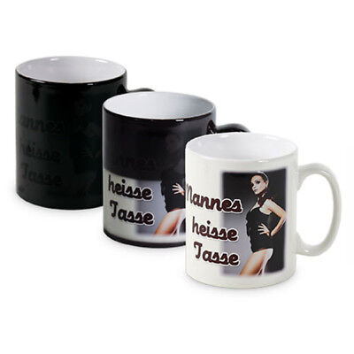 Personalised Heat Sensing Colour Changing Magic Cup Mug For Tricky Funny Gifts