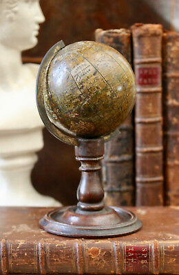 A Rare 2 & 3/4 Inch English Terrestrial Globe, Tisley Gough Square London c1836