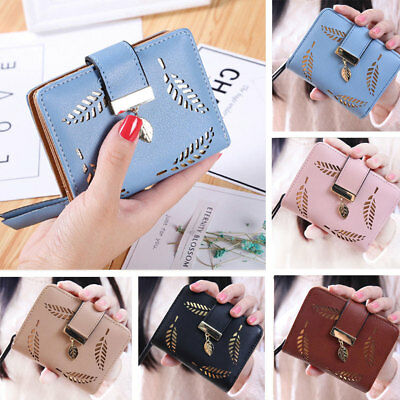 Stylish Women Girls Leather Wallet Card Holder Coin Purse Clutch Small Handbag