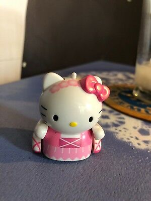 Micropets Tomy Hello Kitty Princess Ballerina Mini Robot EUC Reacts To Sound