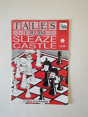 Tales From Sleaze Castle 1992 Gratuitous Bunny Comix UK small press indie
