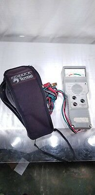 Tempo Sidekick T&N Twisted Pair Cable Tester w/ Soft Case
