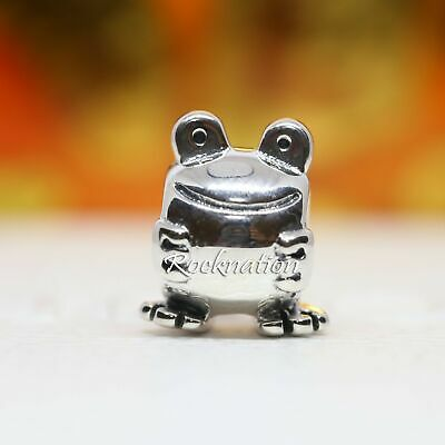 Authentic PANDORA Sterling Silver Charm Frog 790247