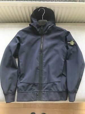 Boys Stone Island Jacket. Navy. 12 Years